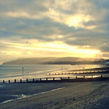 Sandown Bay Sunset